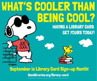 Snoopy Library Card
