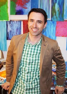 Author Jarrett J. Krosoczka of the Lunch Lady series