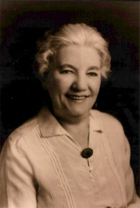 "Laura Ingalls Wilder, author of the ""Little House"" series"