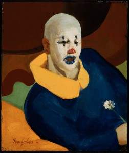 """A Clown"" © 1929 George Benjamin Luks"