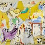 """""""Abstraction"""" © 1949-1950 Willem de Kooning"""
