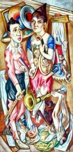"""""""Carnival"""" © 1920 Max Beckmann 1884-1950"""
