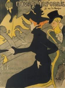 """""""Divan Japonais"""" by Henri de Toulouse-Lautrec"""