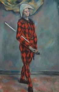 """Harlequin"" © 1888-1890 Paul Cezanne"