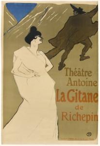 """La Gitane"" by Henri de Toulouse-Lautrec"
