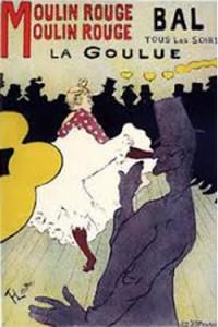 """""""La Goulue Moulin Rouge"""" by Henri de Toulouse-Lautrec"""