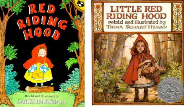 Red Riding Hood Book Cover Comparison V2