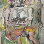 """""""Woman, I"""" © 1950-52 Willem De Kooning"""