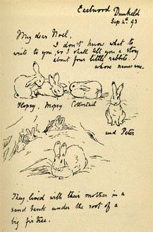 Beatrix Potter Letter