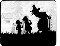Hansel and Gretel Film Frame