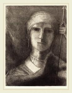 """Parsifal"" © 1892 Odilon Redon"