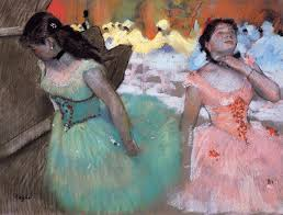 """The Entrance of the Masked Dancers"" Edgar Degas (1879)"