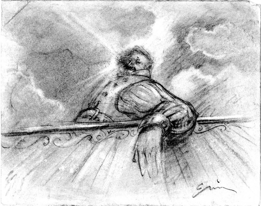 """An Angel Descends"" © 2011 Timothy Basil Ering"
