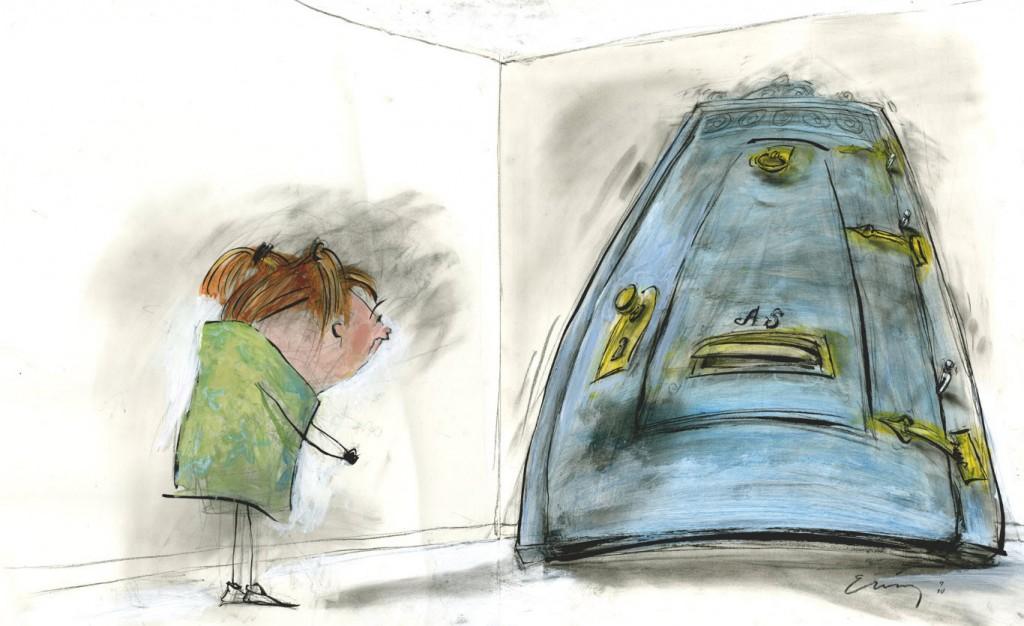 """""""When Is a Door Not a Door?"""" © 2011 Timothy Basil Ering"""